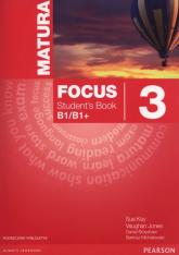 Matura Focus 3 Students Book wieloletni + CD Szkoły ponadgimnazjalne - Kay Sue, Jones Vaughan, Brayshaw Daniel | mała okładka