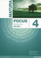 Matura Focus 4  Workbook wieloletni Szkoły ponadgimnazjalne - Brayshaw Daniel, Trapnell Beata, Michałowski Bartosz | mała okładka
