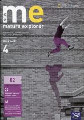 New Matura Explorer 4 Workbook Szkoła ponadgimnazjalna Poziom B2 - Dummett Paul, Benne Rebecca Robb, Inglot Marta, Polit Beata | mała okładka