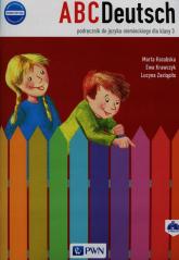 ABCDeutsch 3 Podręcznik + 2CD Szkoła podstawowa - Krawczyk Ewa, Zastąpiło Lucyna, Kozubska Marta   mała okładka