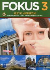 Fokus 3 Język niemiecki Podręcznik z płytą CD - Anna Kryczyńska-Pham | mała okładka