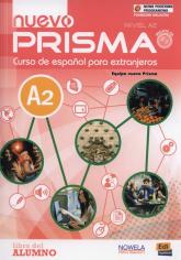 Nuevo prisma A2 Podręcznik wieloletni + CD Szkoły ponadgimnazjalne -  | mała okładka