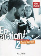 En Action 2 Zeszyt ćwiczeń + CD Szkoła ponadgimnazjalna - Gallon Fabienne, Himber Celine | mała okładka