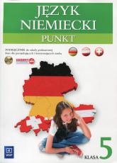 Punkt 5 Język niemiecki Podręcznik z płytą CD Szkoła podstawowa - Anna Potapowicz | mała okładka