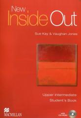 New Inside Out Upper Intermediate Student's Book + CD - Kay Sue, Jones Vaughan | mała okładka