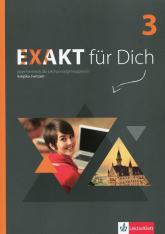 Exakt fur Dich 3 Książka ćwiczeń z płytą DVD - Giorgio Motta | mała okładka