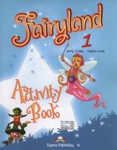 Fairyland 1 Activity Book - Dooley Jenny, Evans Virginia | mała okładka