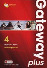 Gateway Plus 4 B2 Podręcznik wieloletni Szkoły ponadgimnazjalne - David Spencer | mała okładka
