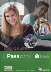 Password 1 Podręcznik wieloletni + CD Szkoły ponadgimnazjalne - Rosińska Marta, Edwards Lydia | mała okładka