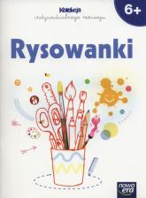 Rysowanki 6+ Kolekcja indywidualnego rozwoju Przedszkole - Agnieszka Gałuszczyńska | mała okładka