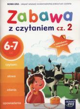 Zabawa z czytaniem Część 2 6-7 lat Szkoła podstawowa -  | mała okładka