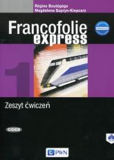 Francofolie express 1 Zeszyt ćwiczeń - Boutegege Regine, Supryn-Klepcarz Magdalena | mała okładka