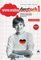 www.weiter deutsch 1 Materiały ćwiczeniowe 7 Szkoła podstawowa - Kozubska Marta, Krawczyk Ewa, Zastąpiło Lucyna   mała okładka
