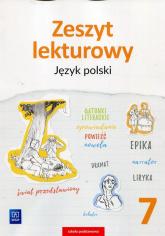 Zeszyt lekturowy Język polski 7 Szkoła podstawowa - Ewa Horwath | mała okładka