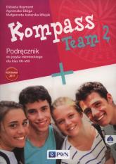 Kompass Team 2 Podręcznik + CD Szkoła podstawowa - Reymont Elżbieta, Sibiga Agnieszka, Jezierska-Wiejak Małgorzata | mała okładka
