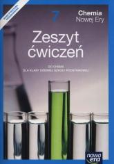 Chemia Nowej Ery 7 Zeszyt ćwiczeń Szkoła podstawowa - Mańska Małgorzata, Megiel Elżbieta | mała okładka