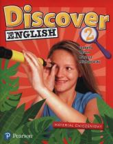 Discover English 2 Materiał ćwiczeniowy Szkoła podstawowa - Hearn Izabella, Michałowski Bartosz | mała okładka