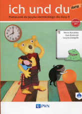 Ich und du neu 1 Podręcznik do języka niemieckiego Szkoła podstawowa - Kozubska Marta, Krawczyk Ewa, Zastąpiło Lucyna | mała okładka