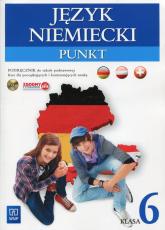 Punkt Język niemiecki 6 Podręcznik z płytą CD Szkoła podstawowa - Anna Potapowicz | mała okładka