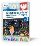 Owocna edukacja 3 Zeszyt z zadaniami o podwyższonym stopniu trudności Edukacja wczesnoszkolna - Mazur Barbara, Sokołowska Beata   mała okładka
