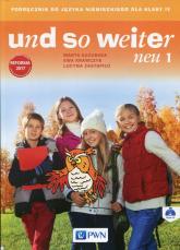 und so weiter neu 1 Podręcznik z płytą CD Szkoła podstawowa - Kozubska Marta, Krawczyk Ewa, Zastapiło Lucyna   mała okładka