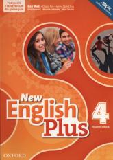 New English Plus 4 Podręcznik z repetytorium + CD Gimnazjum - Wetz Ben, Pye Diana, Quintana Jenny, Gałązka Alicja | mała okładka