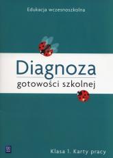 Diagnoza gotowości szkolnej 1 Karty pracy Szkoła podstawowa - Danuta Grabowska | mała okładka