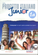 Progetto Italiano Junior 1A 7 Podręcznik + CD - Marin T. | mała okładka