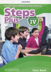 Steps Plus 4 Podręcznik z płytą CD Szkoła podstawowa - Wheeldon Sylvia, Falla Tim, Davies Paul A.   mała okładka