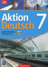 Aktion Deutsch Język niemiecki 7 Podręcznik + 2 CD Szkoła podstawowa - Gębal Przemysław, Biedroń Lena   mała okładka