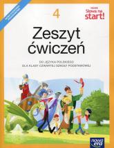 Nowe Słowa na start 4 Zeszyt ćwiczeń Szkoła podstawowa - Klimowicz Anna, Ginter Joanna, Brząkalik Krystyna | mała okładka