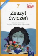 Nowe Słowa na start 7 Zeszyt ćwiczeń Szkoła podstawowa - Kuchta Joanna, Ginter Małgorzata, Kościerzyńska Joanna   mała okładka