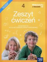 Matematyka z kluczem 4 Zeszyt ćwiczeń Szkoła podstawowa - Braun Marcin, Mańkowska Agnieszka, Paszyńska Małgorzata | mała okładka