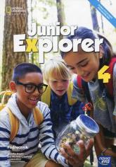 Junior Explorer 4 Podręcznik Szkoła podstawowa - Heath Jennifer, Crawford Michele | mała okładka