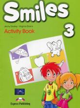 Smiles 3 Activity Book Szkoła podstawowa - Dooley Jenny, Evans Virginia | mała okładka