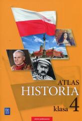 Historia Atlas 4 Szkoła podstawowa -  | mała okładka