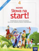 Nowe Słowa na start! 4 Podręcznik Szkoła podstawowa - Klimowicz Anna, Derlukiewicz Marlena   mała okładka