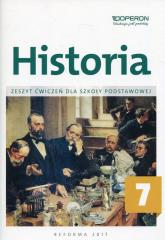 Historia 7 Zeszyt ćwiczeń Szkoła podstawowa -    mała okładka