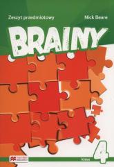 Brainy 4 Zeszyt przedmiotowy - Nick Beare | mała okładka