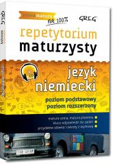 Repetytorium maturzysty Język niemiecki Poziom podstawowy Poziom rozszerzony + CD - Srzednicka Joanna, Golis Adrian, Golis Kamil | mała okładka