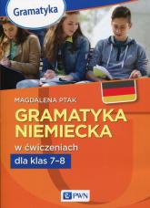 Gramatyka niemiecka w ćwicz.dla klas 7-8 -  | mała okładka