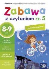 Zabawa z czytaniem Część 5 Szkoła podstawowa - Strzałkowska Małgorzata, Witek Rafał, Widłak Wojciech   mała okładka