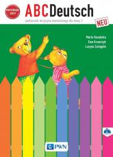 ABCDeutsch neu 2 Podręcznik + 2CD Szkoła podstawowa - Kozubska Marta, Krawczyk Ewa, Zastąpiło Lucyna   mała okładka