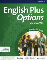 English Plus Options 8 Podręcznik z płytą CD Szkoła podstawowa - Wetz Ben, Gormley Katrina, Juszko Atena | mała okładka