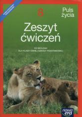 Puls życia 8 Zeszyt ćwiczeń Szkoła podstawowa - Holeczek Jolanta, Januszewska-Hasiec Barbara | mała okładka
