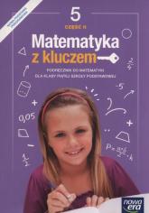Matematyka z kluczem 5 Podręcznik Część 2 Szkoła podstawowa - Braun Marcin, Mańkowska Agnieszka, Paszyńska Małgorzata   mała okładka