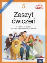 Nowe Słowa na start! 5 Zeszyt ćwiczeń Szkoła podstawowa - Klimowicz Anna, Marlena Derlukiewicz | mała okładka