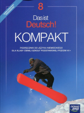 Das ist Deutsch! Kompakt 8 Język niemiecki Podręcznik Szkoła podstawowa - Jolanta Kamińska   mała okładka