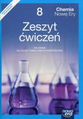 Chemia Nowej Ery 8 Zeszyt ćwiczeń Szkoła podstawowa - Mańska Małgorzata, Megiel Elżbieta | mała okładka