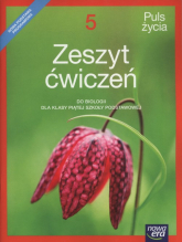 Puls życia 5 Zeszyt ćwiczeń Szkoła podstawowa - Holeczek Jolanta, Pawłowska Jolanta, Pawłowski Jacek | mała okładka